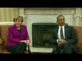 Главы США и Германии провели переговоры по ситуации в Европе - Первый канал