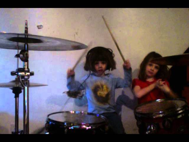 Death Grips Guillotine Drum Cover