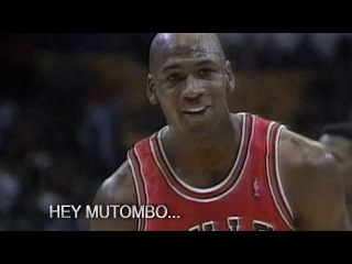 Michael Jordan Makes Free Throw With Eyes Closed