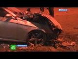 Лихач на Mercedes протаранил кортеж чиновника Махачкалы. Сбил сотрудника ДПС. Авария ДТП в Дагестане