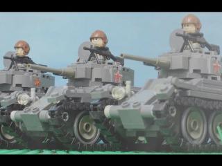 1941 Lego World War Two Battle for Russia | Великая отечественная война