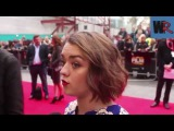 Maisie Williams, Florence Pugh and Carol Morley Interviews - The Falling - World Premiere