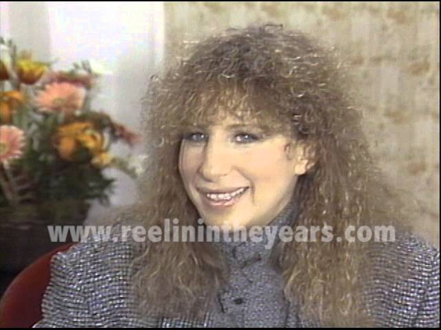 Brian Linehan's City Lights- Barbra Streisand 1983 (Yentl)