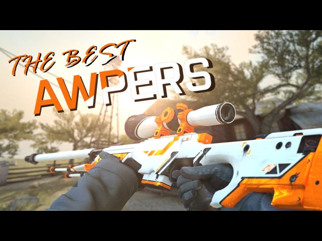CS:GO | The BEST 2 PROFESSIONAL AWPERS (FASTER THAN AIMBOT, Inhuman reactions, ACEs) ESL MONTAGE