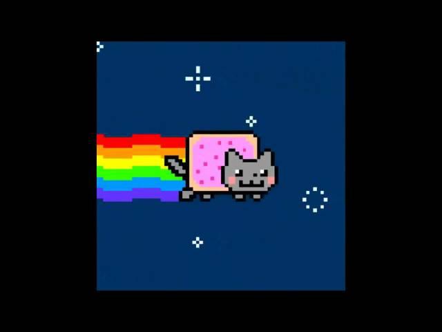 Нян Кэт [1 час] (Nyan Cat original [1 hour] HD 720p.)