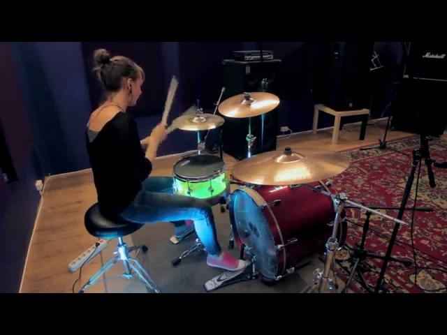 Aleksandra Zolotova HIATUS KAIYOTE - BY FIRE (Drum Cover)
