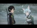 Sword Art Online II - Kirito X Sinon Moments - Excalibur Arc (Eng Sub)