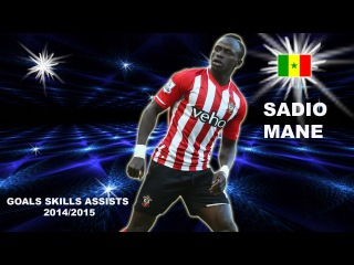 SADIO MANE ● Goals Skills Assists ● Southampton 2014/2015 |HD|