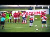 Terrible close range free kick by Zela