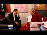 Karl tells the Dalai Lama a joke and it fails miserably