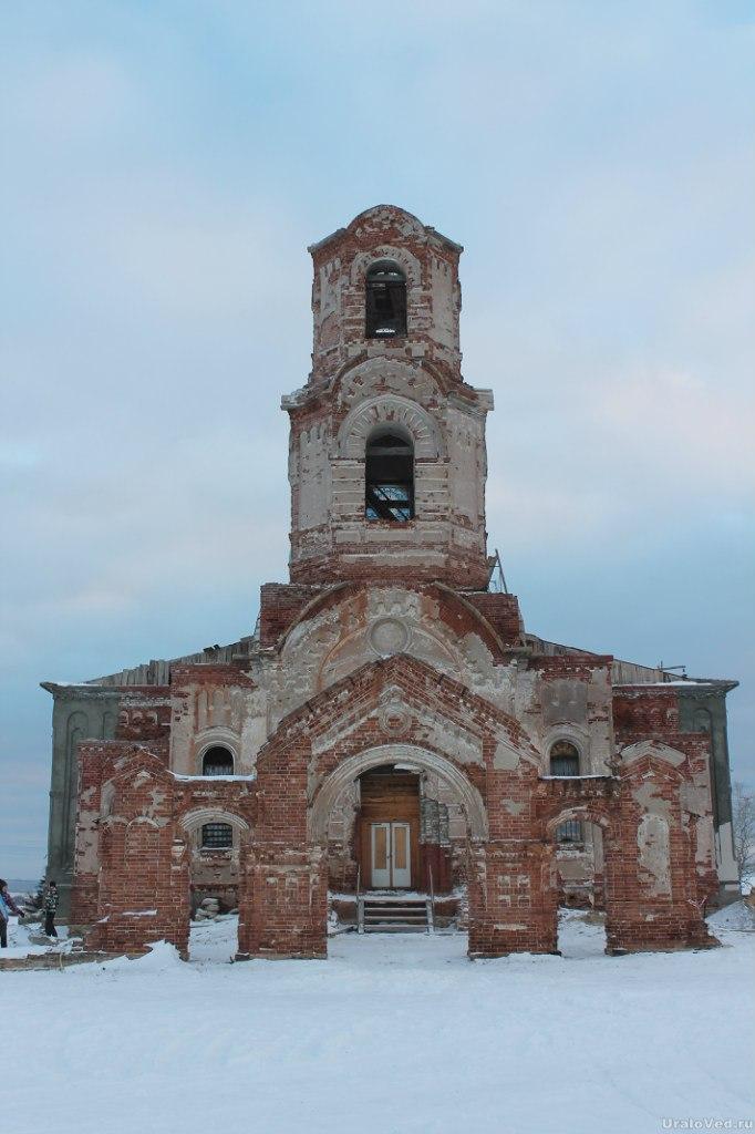 Церковь в Булзях