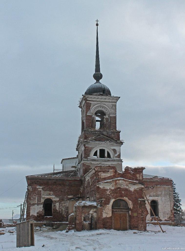 Храм в Огневском