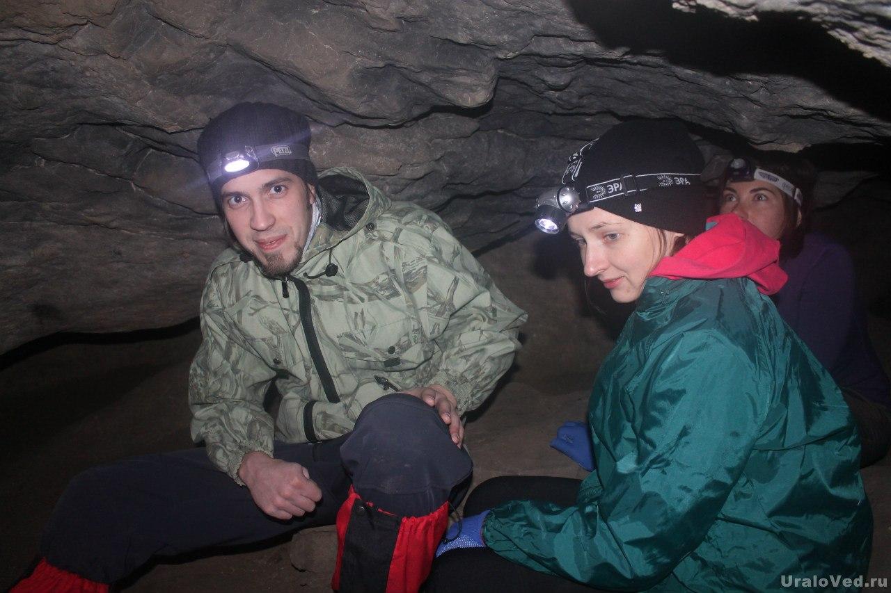 В Зотинской пещере