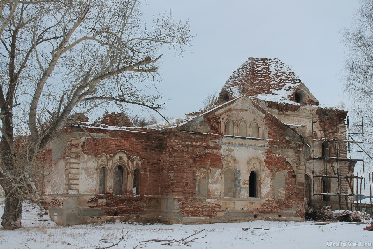 Церковь в Багаряке