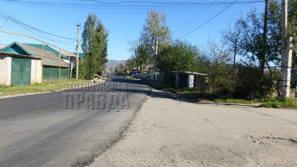 В станице Зеленчукской отремонтируют автодорогу на улицах Леонова и Зеленчукская