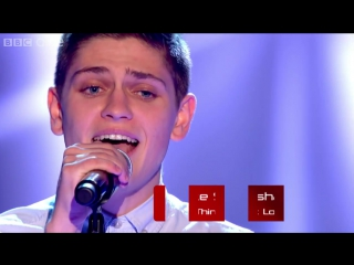 Jake Shakeshaft performs Thinking Out Loud - The Voice UK 2015- Blind Auditions 2 - BBC One