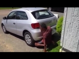 Изнасиловал машину