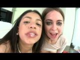 Riley Reid, Veronica Rodriguez blowdjob