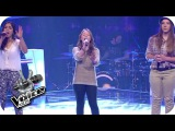 Katy Perry - Unconditionally (Julia, Caitlin, Selin)  The Voice Kids 2014  BATTLE  SAT.1