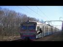 «Зацепер» ЭР9М-555 рейсом 6906 Дарница - Нежин