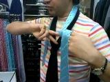 Самый быстрый и простой способ завязывания галстука