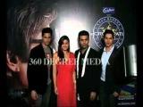 Hot sexy cute Alia Bhatt in red dress, Siddarth Malhotra, Varun Bhatt and Karan Johar pose at KBC6