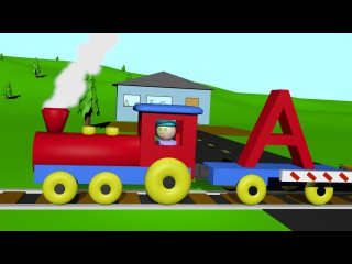 An Alphabet Train - Learning Letters