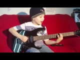 Dustin Tomsen 9 years old covers Gary Moore