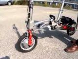 Велосипед складной электро Mobiky