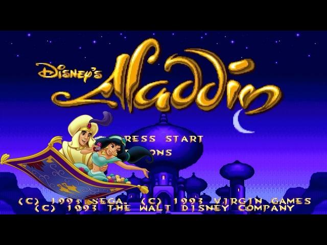 Aladdin прохождение SEGA Mega Drive 2 Sega Genesis 002