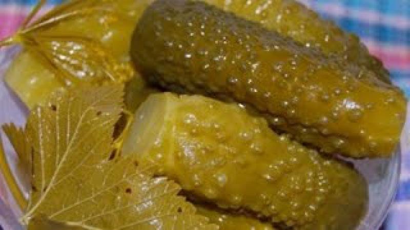 Заготовка на зиму,квашеные огурчики хрустящие как бочковые. (barrel and crunchy cucumbers)