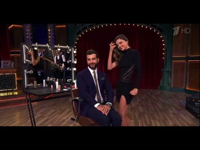 Миранда Керр в программе ''Вечерний Ургант'' Miranda Kerr