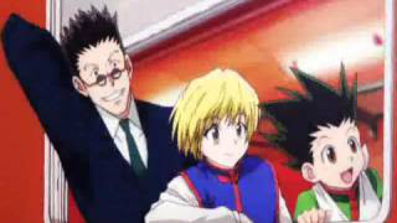 Killua x Alluka x Leorio x Kurapika x Gon-Your forgiveness ♣