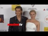 Брентон Туэйтес и Марго Робби на ковровой дорожке церемонии Australians in Film Awards 2014