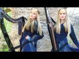NIGHTWISH - Nemo (Harp Twins) Camille and Kennerly HARP METAL
