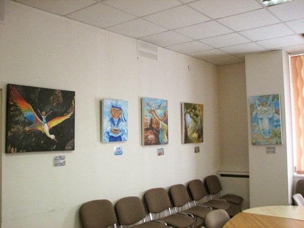 выставка в 10-й библиотеке