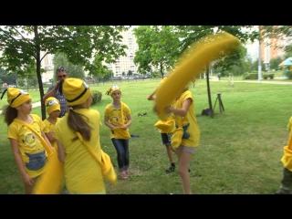 Аниматоры. Миньоны. Гадкий Я. Грю, Люси и Миньоны в программе Счастливый Банан МР2 +7 925 446 93 28