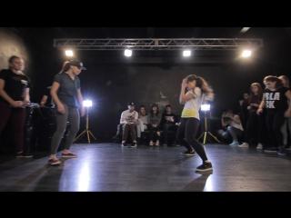 Lulu vs Alya |Dancehall Pro| Myway Groove 2015
