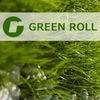 Рулонные газоны Green-Roll. Укладка. Москва
