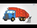Мультики про Машинки - Познавашки - Мусоровоз, Трактор и другие Рабочие Машины
