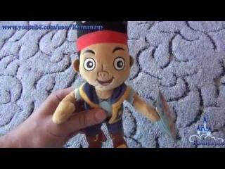 Джейк и пираты Нетландии мягкая игрушка Jake and the Never Land Pirates Mini Plush Jake