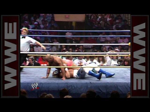 Sting Iron Sheik NWA Television Championship Match WrestleWar 1989
