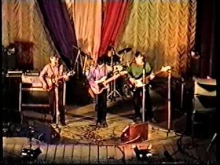 Открытие рок клуба в городе Кондрово Городской дом культуры 1998 год
