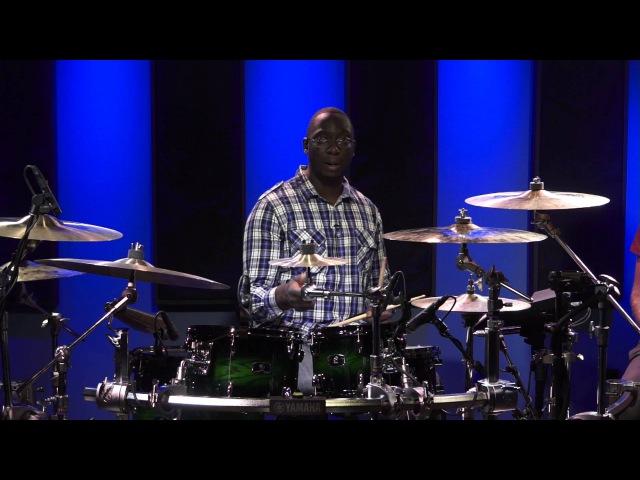 Gospel Drum Lessons - Larnell Lewis (FULL DRUM LESSON)