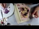 Наталья Большакова МК Видео мастер-класс Многослойный фон в декупаже Ключница Pink violet