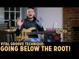 Learn this Vital Groove Technique: Going BELOW the Root! /// Scott's Bass Lessons