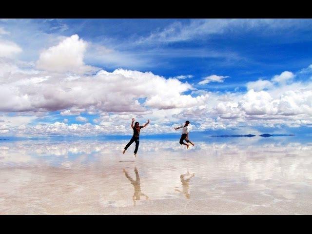 Соляное озеро Salar De Uyuni, Bolivia