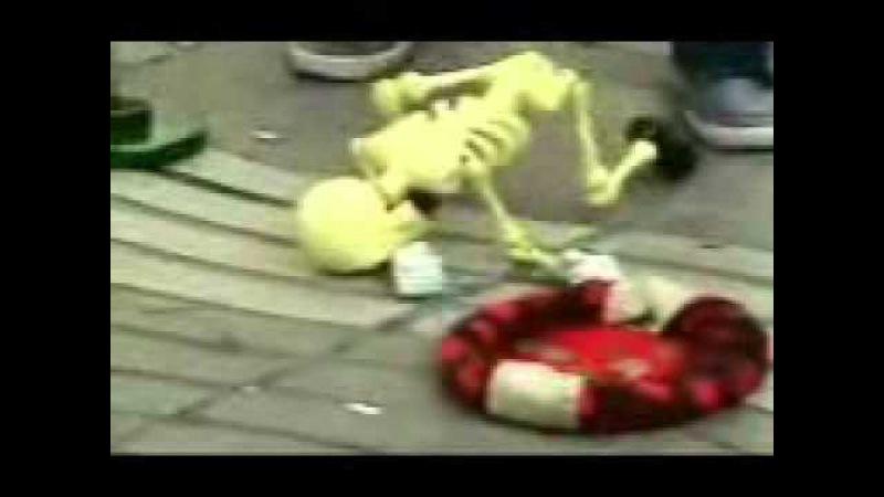Скелет смешно танцует под Коко Джамбу = РЖАКА СМОТРЕТЬ ВСЕМ! И ДО КОНЦА!