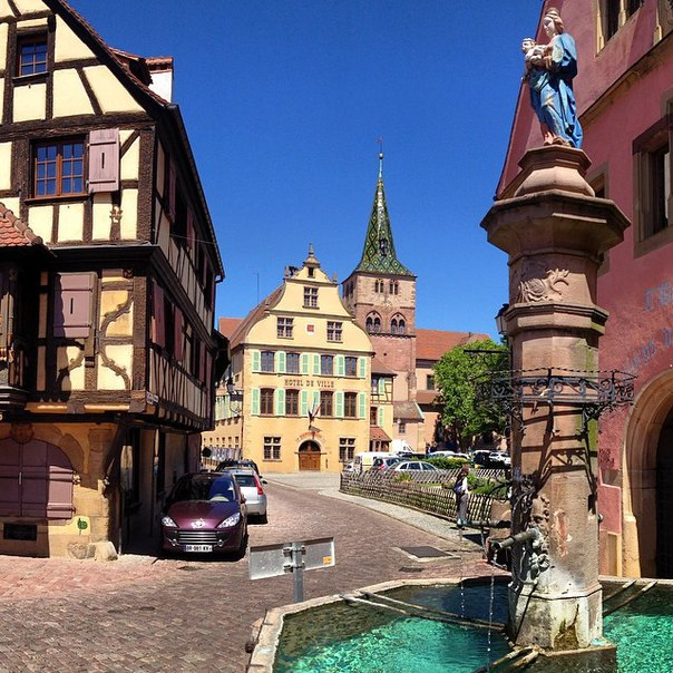 Turckheim (Туркхайм), Эльзас, Франция