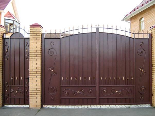 Установка ворот и калитки